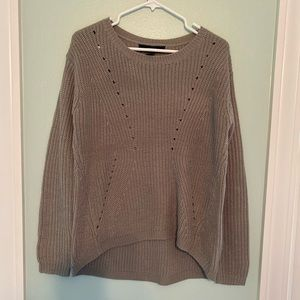 Forever 21 gray small oversized sweater.  NWT